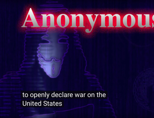"""It's a trap."" Anonymous Declares War on US"