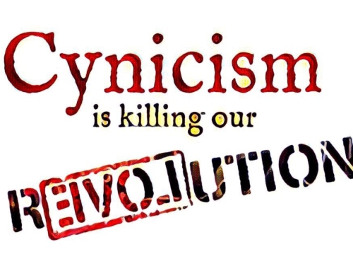 Cynicism Is Killing Our r3VOLution