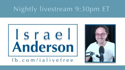 Israel Anderson livestream