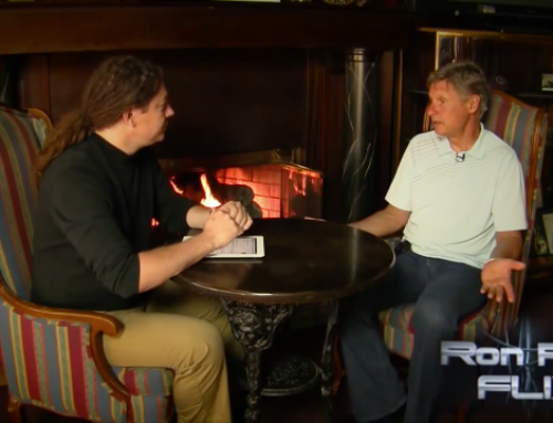 Israel Anderson sits down with Gary Johnson