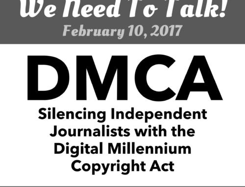 We Need To Talk! – Feb 10, 2007